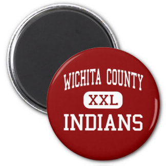 De Provincie van Wichita - Hoge Indiërs - - Leoti  Magneet