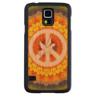 De psychedelische Duif van de Vrede Kersen Galaxy S5 Slim Hoesje