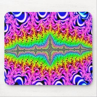 De psychedelische Jugendstil van de Spleet Muismat