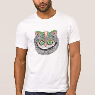 De psychedelische Kat van Cheshire T Shirt