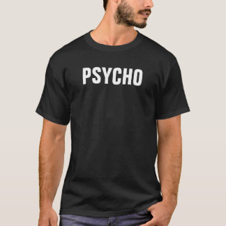 De psycho T-shirt van het Mannen