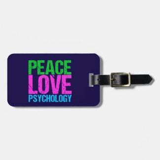 De Psychologie van de Liefde van de Vrede van de Kofferlabel