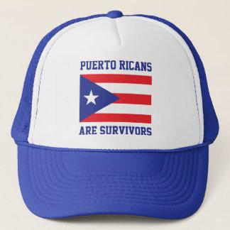 De Puerto's Ricaan zijn de vlag van de Trucker Pet