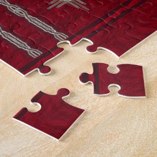 De Puzzel 11x14 van het saldo met de Doos van de Puzzels