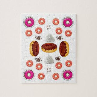De Puzzel van de doughnut Legpuzzel