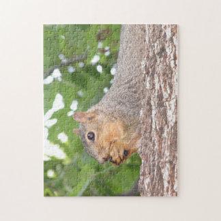 De Puzzel van de eekhoorn Puzzel