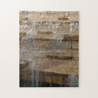 De Puzzel van de Waterval van de baksteen Puzzel