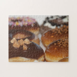 De puzzel van doughnuts puzzels