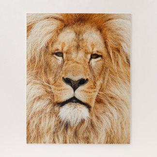 De Puzzel van het Gezicht van de leeuw Puzzel
