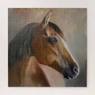De Puzzel van het Portret van het paard Puzzel