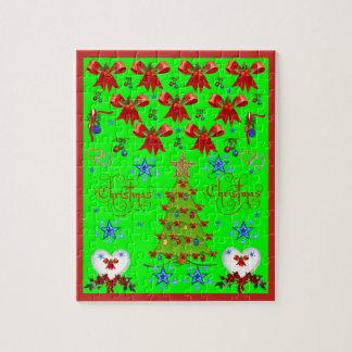 De Puzzel van Kerstmis Legpuzzel