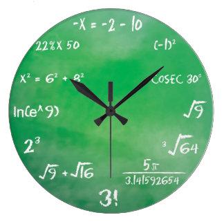 De Quiz van de Vergelijking van de wiskunde voor Grote Klok