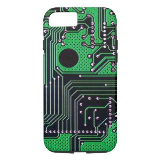 De raad van de kring (PCB) - groene kleur iPhone 8/7 Hoesje