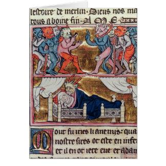 De Raad van Demonnen, van 'l'Histoire DE Merlin' Kaart