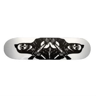 De Raad van het Schaats van het Skelet van de Skateboard Deck