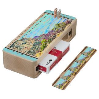 De Raad van het Spel van de Cribbage van Sedona Esdoorn Cribbagebord