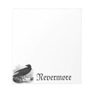 """De raaf """"Nevermore"""" Blocnote"""