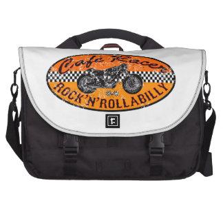 De raceauto van de koffie laptop tassen