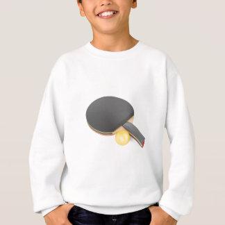 De racket en de bal van het pingpong trui