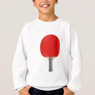 De racket van het pingpong trui
