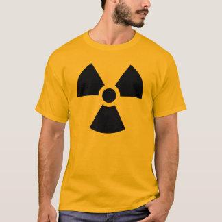 De radioactieve T-shirts van het Symbool