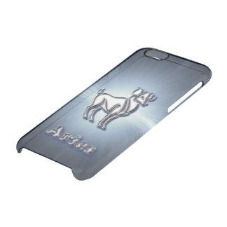 De Ram van het chroom Doorzichtig iPhone 6/6S Hoesje