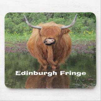 """De """"rand van Edinburgh"""" mousemat Muismatten"""