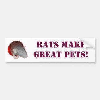 De ratten maken grote huisdieren! De Sticker van d