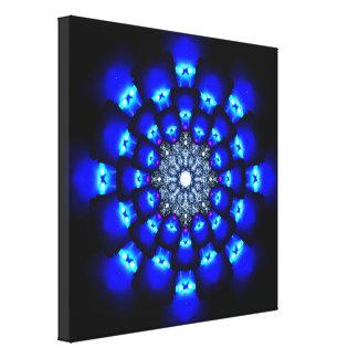 De Reactor Mandala van de energie Canvas Print