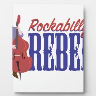 De Rebel van Rockabilly Fotoplaten
