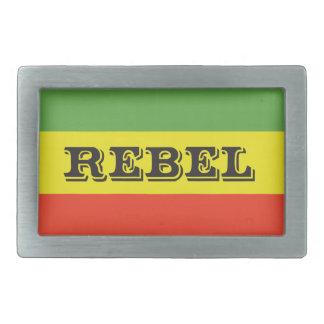 De RebellenVlag van Rasta Gespen