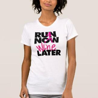 De Recentere T-shirt van de Wijn van de looppas nu