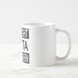 De rechte Herberg van het Vat Outta Koffiemok