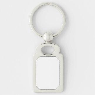 De Rechthoek Keychain van de douane