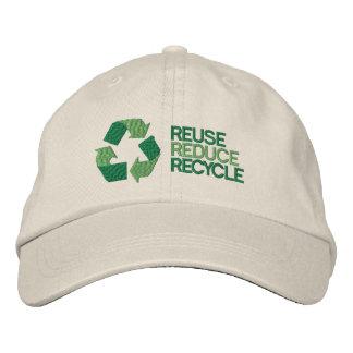 De recyclene Voorlichting van het Milieu Geborduurde Pet