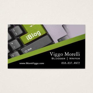 De Redacteur Internet WordPress Blog van de Visitekaartjes