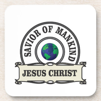 de redder van Christus van al mensheid Drankjes Onderzetters