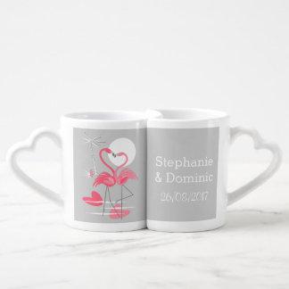 De reeks van de de koffiemok van de Datum van de Loversmok