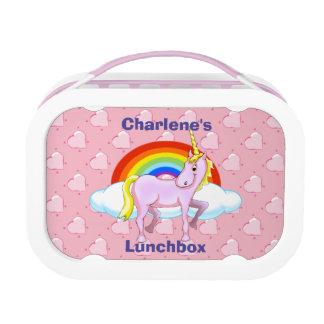 De Reeks van de Doos van de Lunch van de eenhoorn Lunchbox