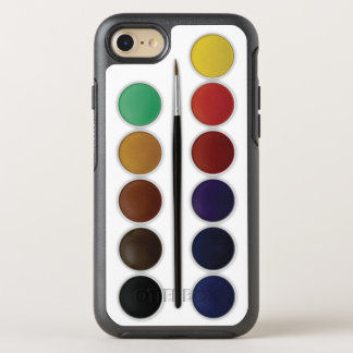De Reeks van de waterverf OtterBox Symmetry iPhone 7 Hoesje