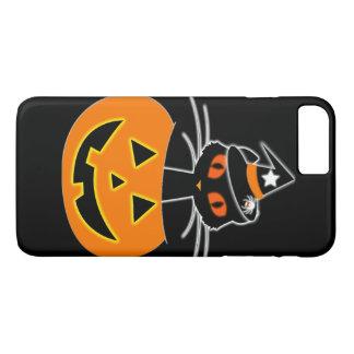 De reeks van Halloween van de Heks van de kat iPhone 8/7 Plus Hoesje