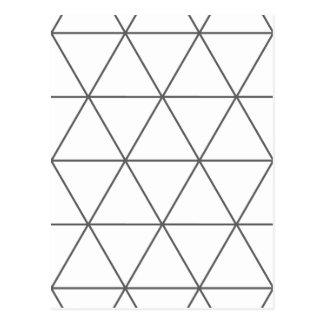 De regel van Driehoek 01 Briefkaart