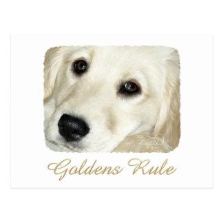 De Regel van Goldens Briefkaart