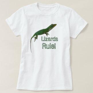 De Regel van hagedissen T Shirt