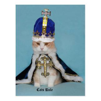 De Regel van katten Briefkaart