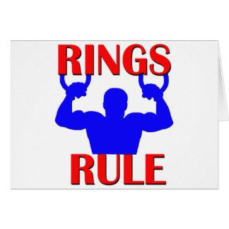 De Regel van ringen Wenskaart