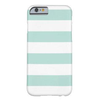 De regelbare strepen van PixDezines/diy kleur Barely There iPhone 6 Hoesje