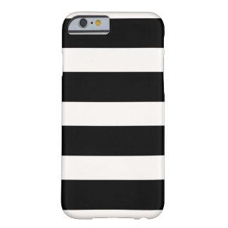 De regelbare strepen van PixDezines/diy kleuren Barely There iPhone 6 Hoesje