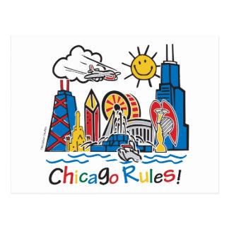 De Regels van Chicago Briefkaart