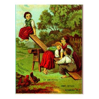 """De """"regels van de Meerderheid """" Briefkaart"""